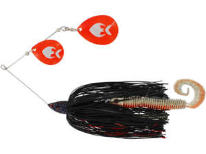 Bild på Westin MonsterVibe Colorado Blades 65g Black Mamba