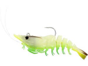 Bild på Westin Salty the Shrimp R'N R 10cm 18g (3 pack) Glowing Shrimp
