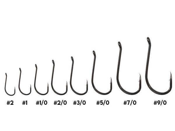 Bild på Kinetic Short Shank Single Hook (6-10 pack)