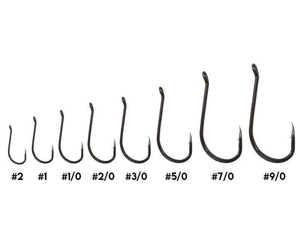 Bild på Kinetic Short Shank Single Hook (6-10 pack) #2/0 (8 pack)