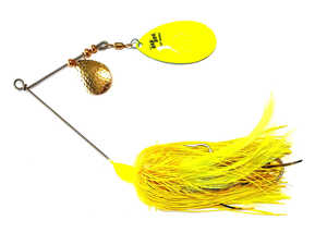 Bild på Rad Dog Spinnerbait Rubber Tandem 50g Yellow