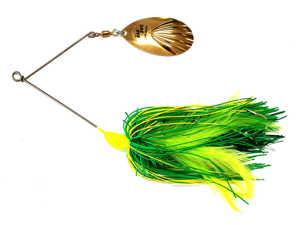 Bild på Rad Dog Spinnerbait Rubber Single 50g Green Yellow