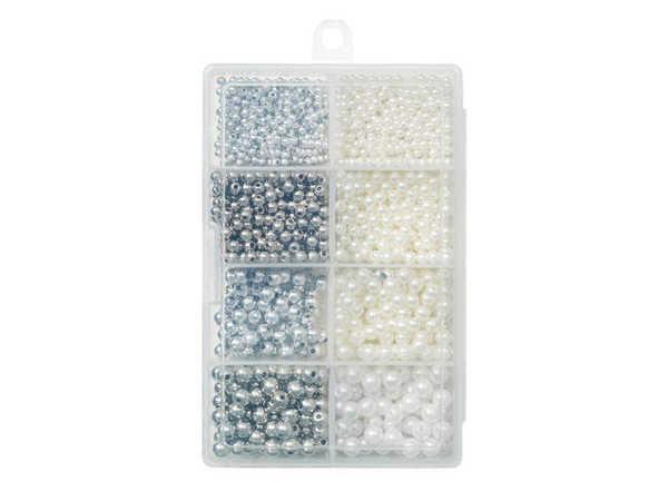 Bild på Kinetic Pearl Beads Kit Pearl/Silver