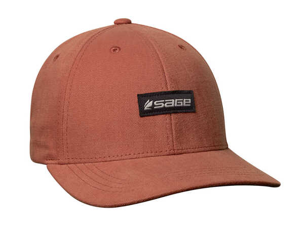 Bild på Sage 6 Panel Logo Hat Rust
