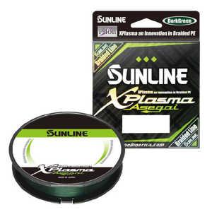Bild på Sunline XPlasma Asegai X8 Dark Green 150m 0,418mm / 27,2kg
