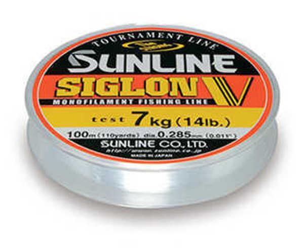 Bild på Sunline Siglon V Monofilament Clear 100m