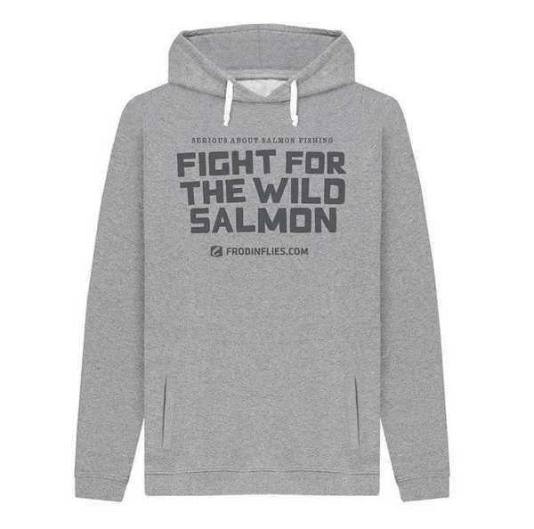 Bild på Frödin Fight for the Wild Salmon Grey Hoodie