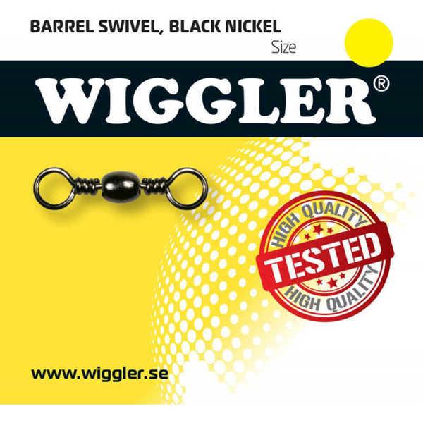 Bild på Wiggler Barrel Swivel Black Nickel (2-10 pack)