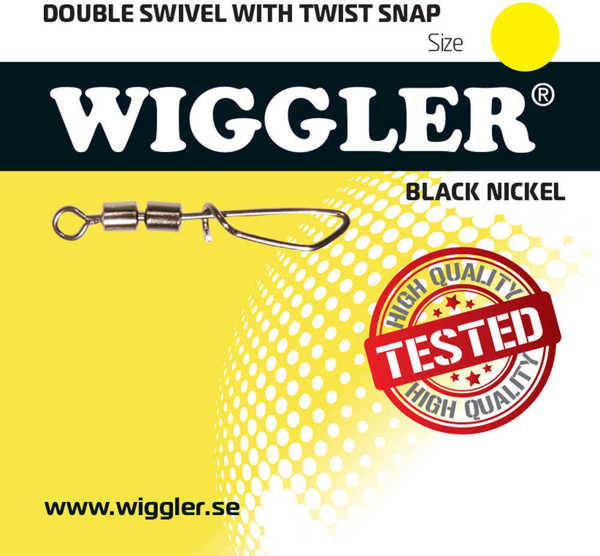 Bild på Wiggler Double Swivel Twist Snap (2-3 pack)