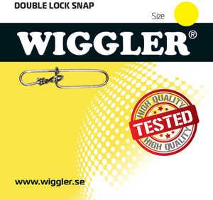 Bild på Wiggler Double Lock Snap (7-8 pack) #3 / 40kg (8 pack)