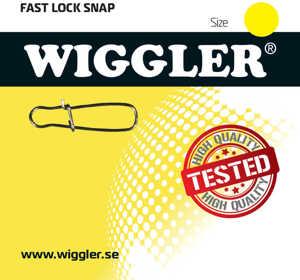 Bild på Wiggler Fast Lock Snap (10 pack) #6 / 50kg