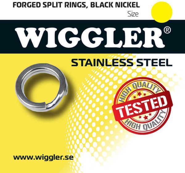 Bild på Wiggler Fjäderringar Rostfria (6-10 pack)