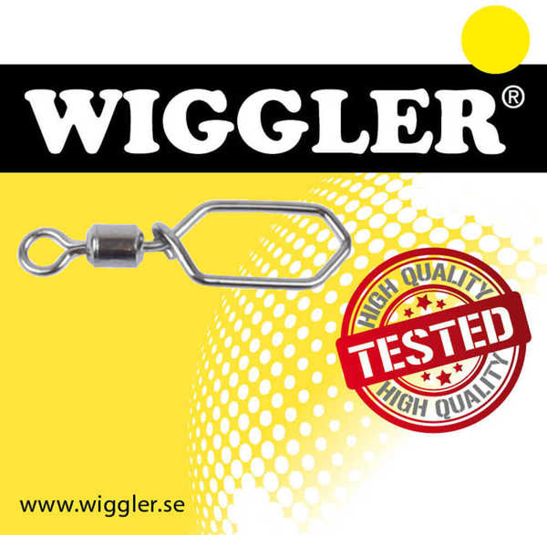 Bild på Wiggler Rolling Swivel Scandilock Black Nickel (6-7 pack)