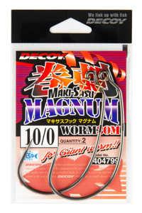 Bild på Decoy Makisasu Hook Magnum Worm30M (2-4 pack) #8/0 (3 pack)