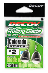 Bild på Decoy Rolling Blade Colorado Silver (2 pack) #2