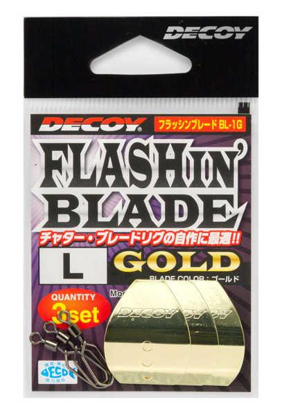 Bild på Decoy Flashin Blade Gold (3 pack)