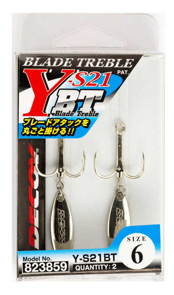 Bild på Decoy Blad Treble Y-S21BT (2 pack)
