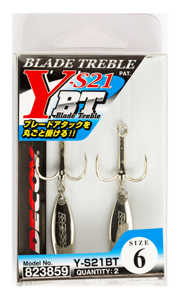 Bild på Decoy Blad Treble Y-S21BT (2 pack) #4