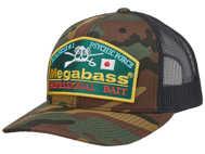 Bild på Megabass Throwback Trucker Camo