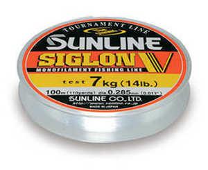Bild på Sunline Siglon V Monofilament Clear 100m 0,310mm / 7,5kg