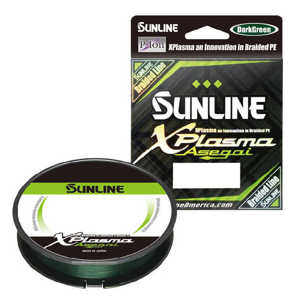 Bild på Sunline XPlasma Asegai X8 Dark Green 150m 0,296mm / 13,6kg