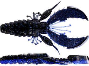 Bild på Westin CreCraw Creaturebait 10cm 12g (4 pack) Black/Blue