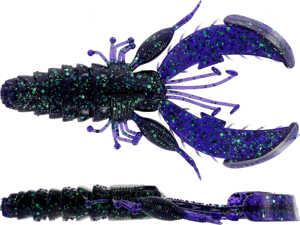 Bild på Westin CreCraw Creaturebait 10cm 12g (4 pack) Junebug