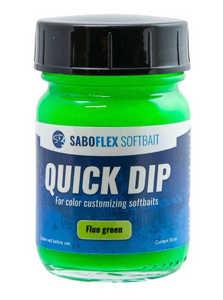 Bild på Svartzonker Softbait Quick Dip 50ml Fluo Grön