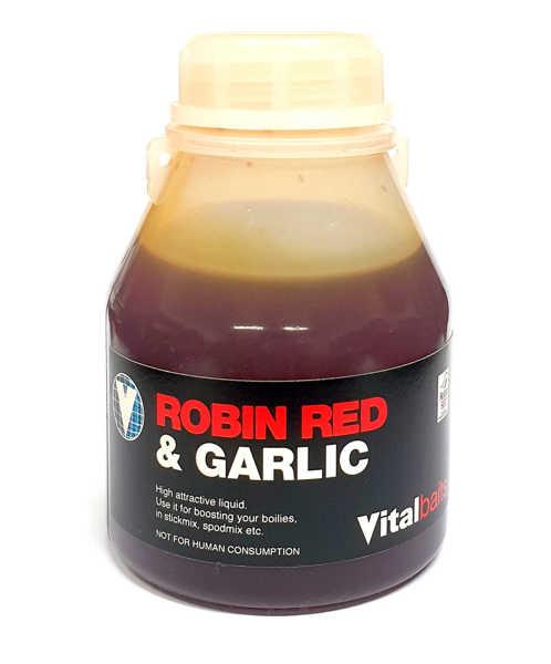 Bild på Vitalbaits Liquid Robin Red & Garlic 250ml