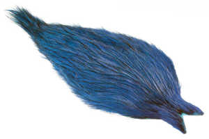 Bild på Whiting Coq de Leon Rooster Cape Badger Silver Doc Blue