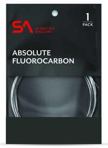 Bild på Scientific Anglers Absolute Fluorocarbon Tafs 9ft 1X (0,25mm)