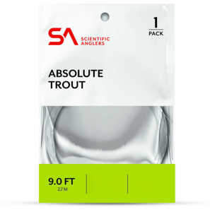 Bild på Scientific Anglers Absolute Trout Tafs 9ft 4X (0,18mm)