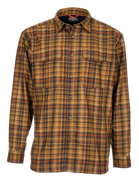 Bild på Simms ColdWeather Shirt (Dark Bronze Admiral Plaid)