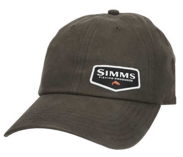 Bild på Simms Oil Cloth Cap Coffee