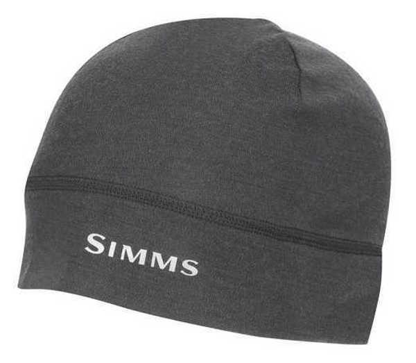 Bild på Simms Lightweight Wool Liner Beanie Carbon