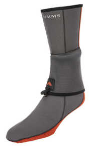 Bild på Simms Neoprene Flyweight Sock Pewter Small