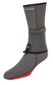 Bild på Simms Neoprene Flyweight Sock Pewter Large