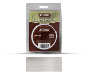 Bild på Scientific Anglers Dacron Backing White 20lb (100yd)