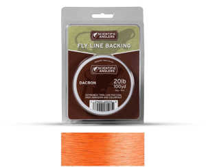 Bild på Scientific Anglers Dacron Backing Orange 30lb (250yd)