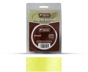 Bild på Scientific Anglers Dacron Backing Yellow 20lb (100yd)