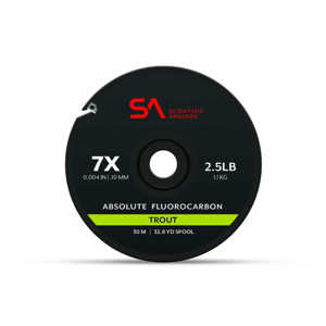 Bild på Scientific Anglers Absolute Fluorocarbon Trout Tippet (30m) 0X (0,28mm)