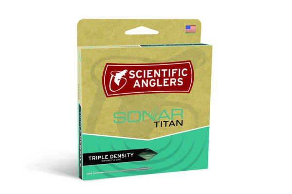 Bild på Scientific Anglers Sonar Titan Triple Density S3/S5/S7 WF8