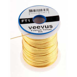 Bild på Veevus French Tinsel Oval Gold XS