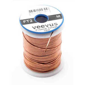 Bild på Veevus French Tinsel Oval Copper Small