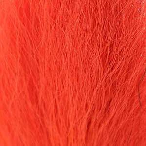 Bild på Hjortsvans/Bucktail i bitar Fluo Fire Orange