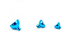 Bild på FITS Brass Turbo Tubes Blue Metallic - Small