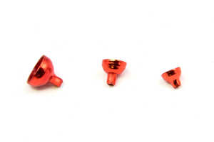 Bild på FITS Brass Turbo Tubes Red Metallic - Small