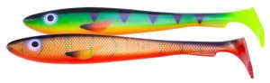 Bild på Svartzonker McRubber The Pelagic 29cm (2 pack) Red Tiger & Firetiger
