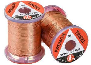 Bild på UTC French Tinsel Oval Copper - XS
