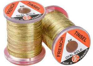 Bild på UTC French Tinsel Oval Gold - XS
